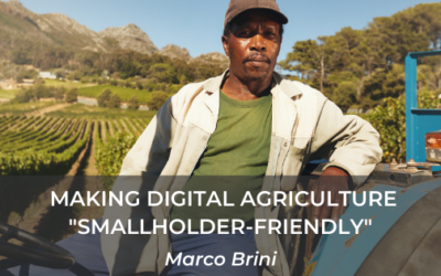 "Making Digital Agriculture ""smallholder-friendly"""